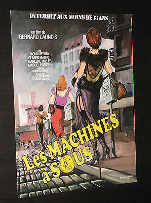 LES MACHINES A SOUS  (Flyer) - Monique Vita