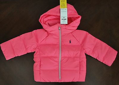 d99a94f4c Clothing, Shoes & Accessories NWT Ralph Lauren Infant Boys Red Down Hood  Footed Snowsuit Bunting 3m ...