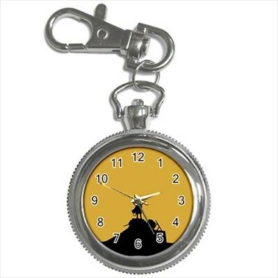 FLCL Pocket Watch Keychain - Anime Manga