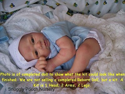 Reborn Doll Kit, Lara By Linde Scherer, Vinyl Doll Kit
