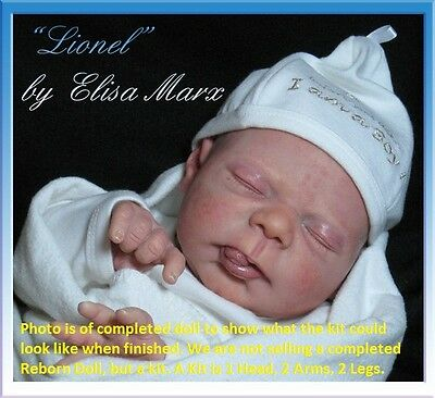Reborn Doll Kit, Lionel By Elisa Marx, Vinyl Kit