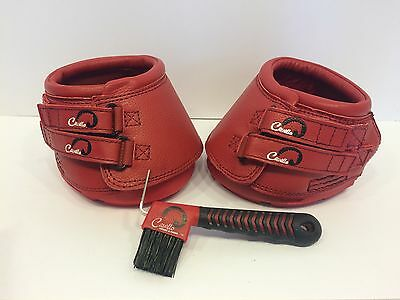 Cavallo Simple Slim Sole Hoof Boots Red Size 3
