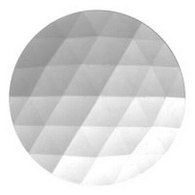 Stained Glass Supplies - Jewels -JEWEL-50mm ROUND-CRYSTAL (3306) FREE SHIPPING