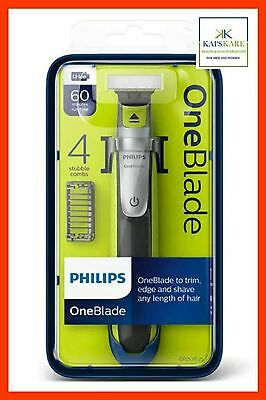 Philips OneBlade QP2530 Shaver - 4 Combs - Brand New and Sealed - FAST FREE POST