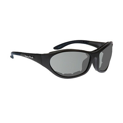 Ugly Fish Cruize Motorcycle Glasses - Matte Black Tinted