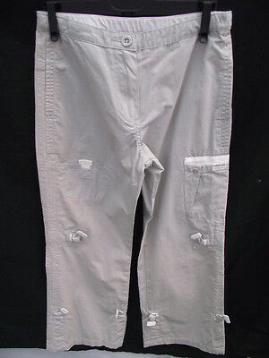 BNWOT Boys Sz 8 Timberland Smart Pale Grey Cargo Style Long Pants RRP $120