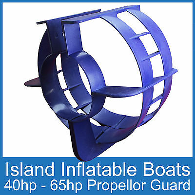 OUTBOARD PROPELLER GUARD ● Fits 40HP up to 65HP Motors ● Safety Boat Protection