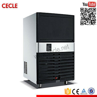 Commercial Ice Maker Auto Clear Cube Ice Making Machine 40kg/24H 220V