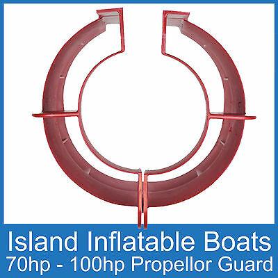 OUTBOARD PROPELLER GUARD Fits 70HP up to 100HP Motors. Boat Safety Protection