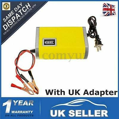 12V 6AMP 6A Motorcycle Car BOAT ATV Battery Charger Intelligent Charging Machine