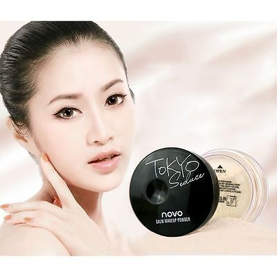 Translucent Mineral Facial  Makeup Smooth Foundation Finish Loose Powder Beauty