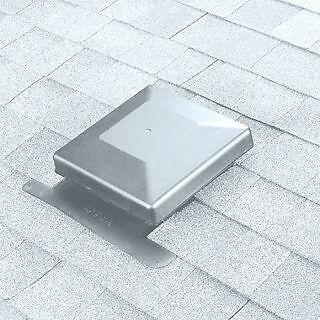 Roof Vent,square,galv