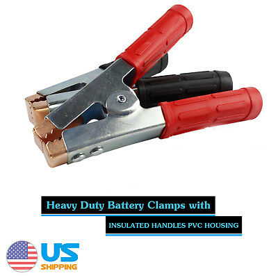 Vehicle Heavy Duty Battery Clamp Jumper Cable Clamp 1000Amp Booster Clamp Pair
