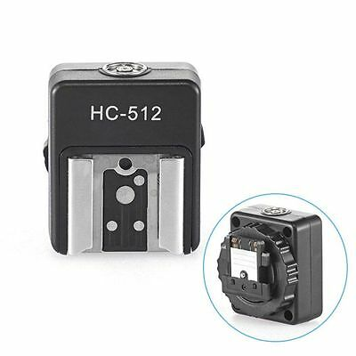 Camera Hot Shoe Adapter for Sony MI Mount A7R A7S II A6000 A6300 to Nikon Flash