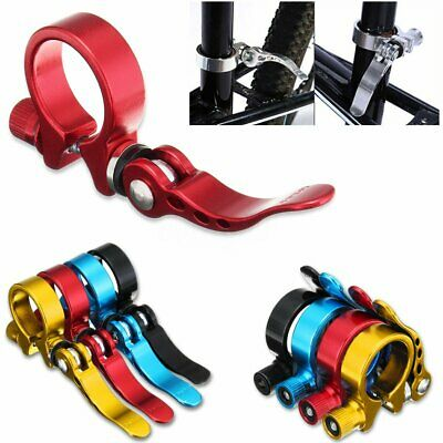 Bicycle Mountain Road Bike 31.8mm Seat Post Clamp Aluminium Alloy Quick Release