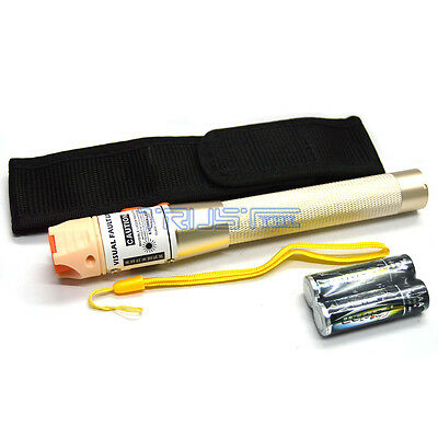 Visual Fault Locator Fiber Optic Cable Tester 10MW VFL For FC ST SC Interface