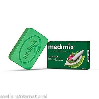 Medimix Soap  With 18 herbs  Classic Soap  75 gm / 125 gm  Real Ayurveda