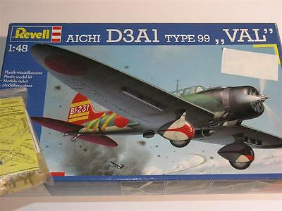 1/48 Revell Aichi D3A1 type99 VAL     RARE Kit