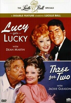 Lucille Ball Specials: Lucy Gets Lucky/Three for Two (2009, DVD NUEVO (REGION 1)