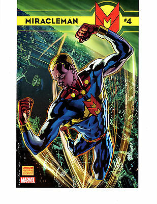 Miracleman #4 (2014) Scarce 1:75 Hitch Variant Cover *special Offer*