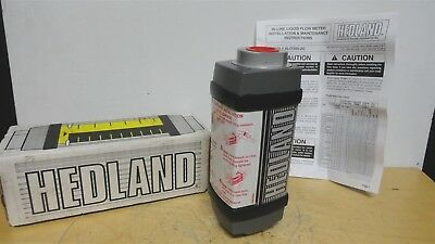 HEDLAND * Oil & Petroleum FLOW METER * ALIMINUM * PN: H701A-005 * NEW in  BOX