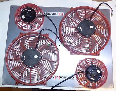 CHEVY S10 S15 V8 Swap Ff Dynamics Extreme Electric Twin Cooling Fan