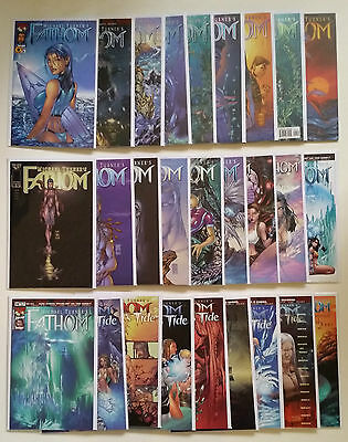 Full Run of Michael Turners Fathom, Incl. Special Covers, Killians Tide ++ DEAL!