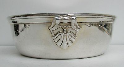 Art Deco French Cristofle Serving Bowl 7 Inch