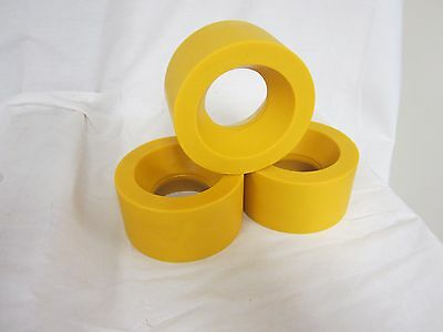 Urethane Power Feeder Roller Wheels (RU-120) Set of 3 for 1HP Feeders