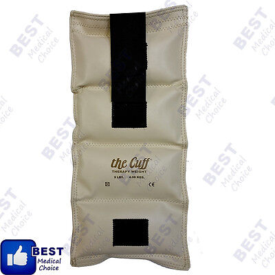 Physical Therapy 5 lb 2.27 kgs The Cuff Adjustable Ankle and Wrist Weight