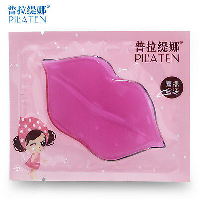Pilaten Collagen Lip Treatment Mask Crystal Anti-Ageing Lip Plumper Moisturising