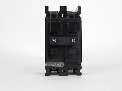 UL 2-Pole 70 Amp Circuit Breaker LR 43556