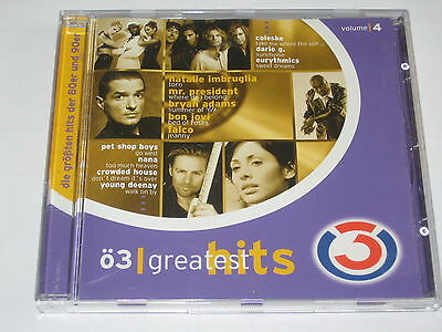 CD/Ö3 GREATEST HITS Vol. 4/FALCO/BON JOVI/COLESKE/THE CARS/BRYAN ADAMS/NEW NEU