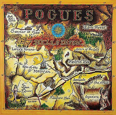 The Pogues - Hell's Ditch -New 180g Vinyl LP + Download