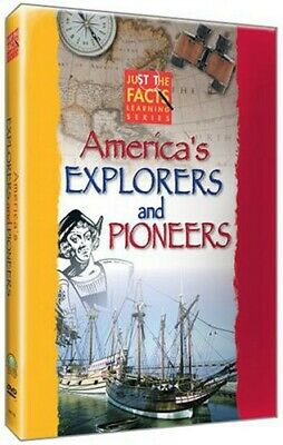 Just the Facts: America's Explorers and Pioneers (2005, DVD NUOVO) (REGIONE 1)