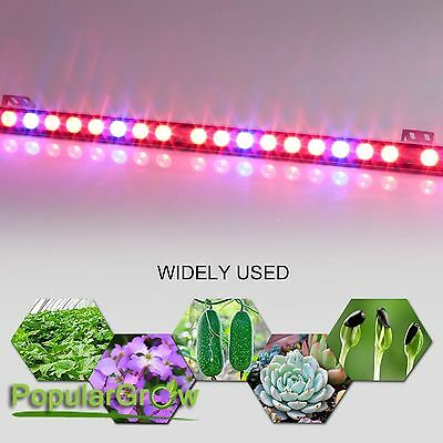 Waterproof 108W LEDGrow Bar Light Red&Blue Strip Indoor Garden Plant Flower Lamp