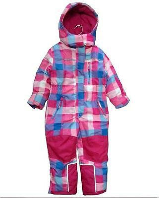 NEW Girl's Full Snowsuit Ski Suit Size  4 5 6 Years