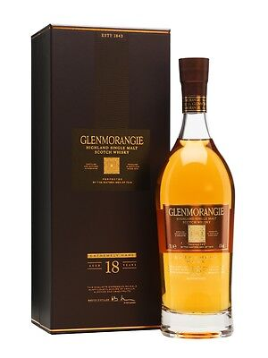 Glenmorangie 18 Year Old Single Malt Scotch Whisky (6 x 700ml)