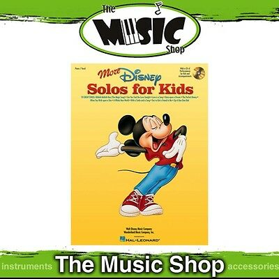 New More Disney Solos for Kids Vocal & Piano Music Book & CD