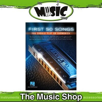 New First 50 Songs You Should Play on Harmonica Music Book