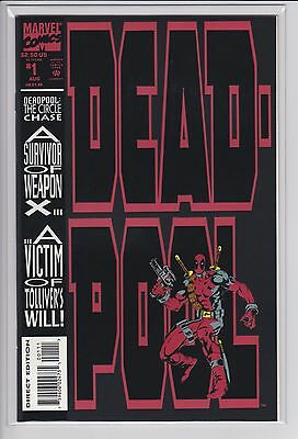Deadpool The Circle Chase #1  NM- 9.2  (1993 Marvel Comics)  Near Mint-
