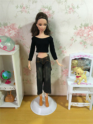 Original Handmade Trendy Casual Wears Clothes Outfit Barbie Doll Party A512