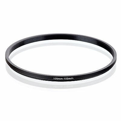 RISE (UK) 105-102MM 105MM-102MM 105 to 102 Step Down Ring Filter Adapter metal