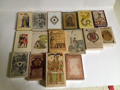 FOURNIER VINTAGE REPRO ANTIQUE PLAYING CARDS HIGH QUALITY MINT CONDITION tarot