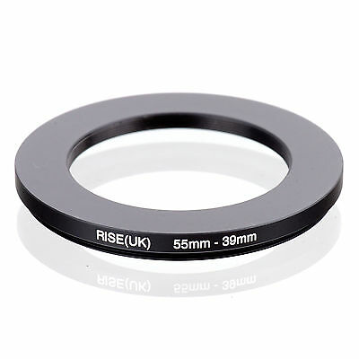 RISE (UK) 55-39MM 55MM-39MM 55 to 39 Step Down Ring Filter Adapter