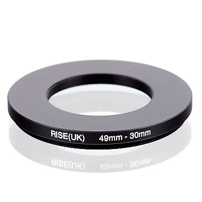RISE (UK) 49-30MM 49MM-30MM 49 to 30 Step Down Ring Filter Adapter