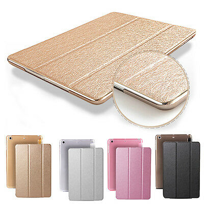 Luxe Housse Coque Etui Cuir Smart Protection support stand pr iPad Mini Air Pro