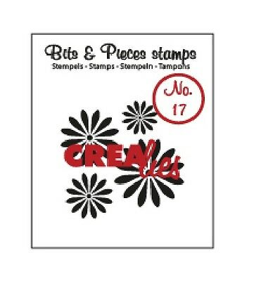 Crealies Clearstamp Bits & Pieces no. 17 Flowers 1 051017