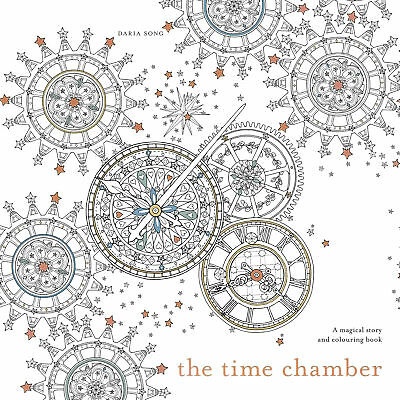 Daria Song - The Time Chamber: A magical story and colouring book (Paperback)