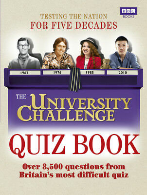 Steve Tribe - The University Challenge Quiz Book (Paperback) 9781846078569